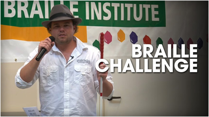Watch Braille Challenge video